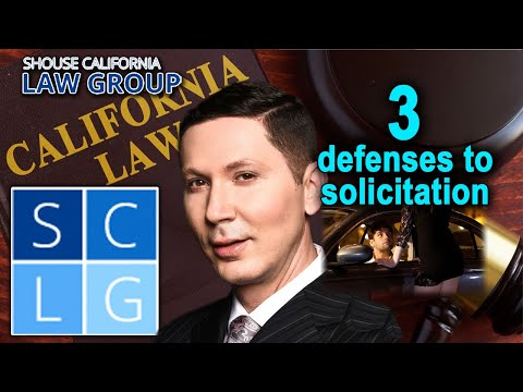 3 ways to beat solicitation charges in California