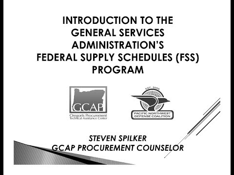 Intro to the General Services Administration