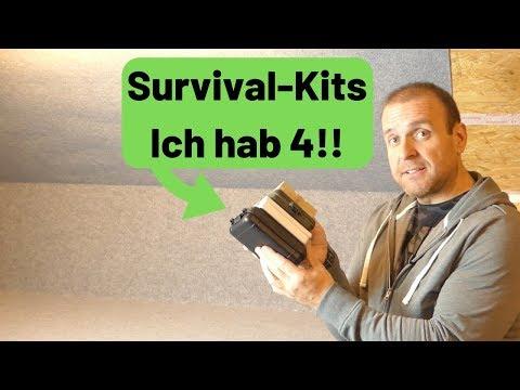 Fertige Survival Kits - Ich habe 4 davon, aber macht das Sinn? ????