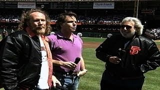 FLA@SF: Grateful Dead perform national anthem