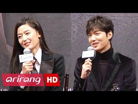 Showbiz Korea _ JUN Ji-hyun(전지현), LEE Min-ho(이민호) Interview _ The Legend of the Blue Sea
