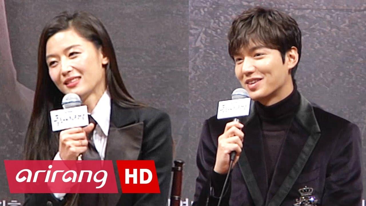 Showbiz Korea Jun Ji Hyun 전지현 Lee Min Ho 이민호 Interview