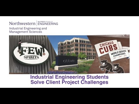 Industrial Engineering Students Solve Project Challenges