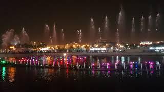 Fountain Show, King Abdullah Park, Riyadh, Saudi Arabia