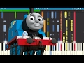 Download IMPOSSIBLE REMIX - Thomas The Tank Engine Theme Song - Piano Cover MP3 song and Music Video