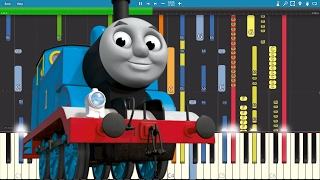 IMPOSSIBLE REMIX - Thomas The Tank Engine Theme Song - Piano C…
