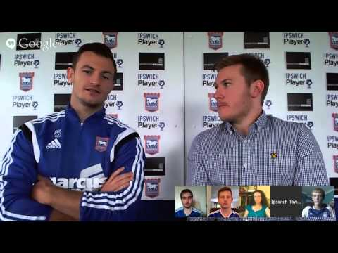 #ITFC Live Google+ Hangout on Air with Tommy Smith