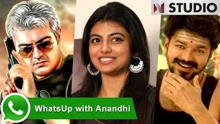 """Waiting for """"Vivegam"""" or """"Mersal""""? """"Kayal"""" Anandhi replies for interesting questions"""
