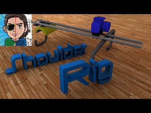 Professionelle DSLR-Videos - Shoulder Rig selber bauen