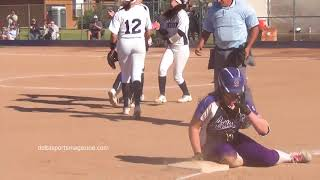 NCS Softball 2018 - Freedom vs Amador Valley - BVAL highlights