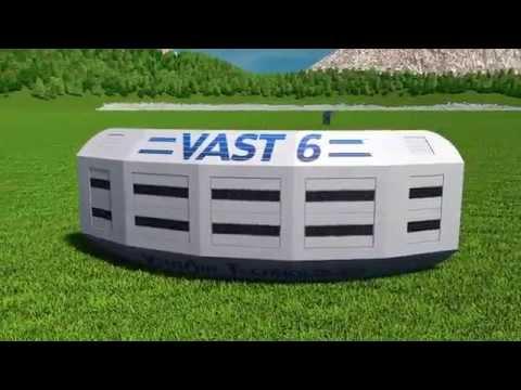 VAST 6 - Portable Airborne Wind Energy - Kite System.