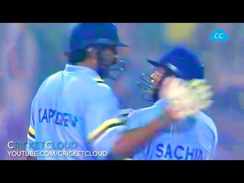 KAPIL DEV and SACHIN - RARE VIDEO !!