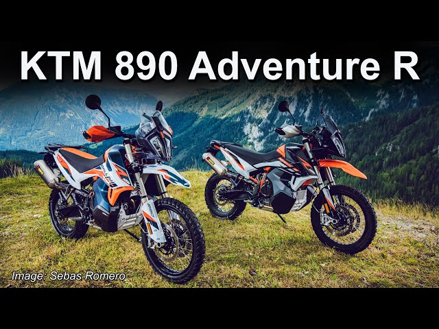 2021 KTM 890 Adventure R - New Model Overview