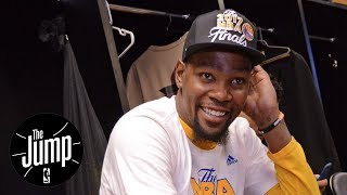 Kevin Durant The Vegas Favorite For NBA Finals MVP   The Jump   ESPN