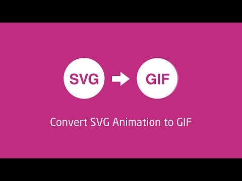 Convert SVG Animation To GIF