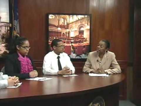 Senator Montgomery Legislative Report with guests from ACORN High School Show #2