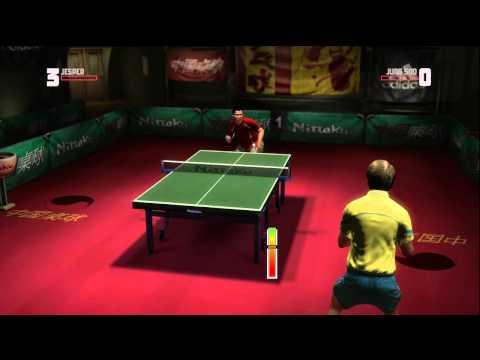 Rockstar Table Tennis - Serving Aces Jesper vs Jung Soo (Expert)