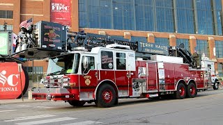 Dash® CF 100' Heavy-Duty Aerial Platform – Terre Haute Fire Department, IN