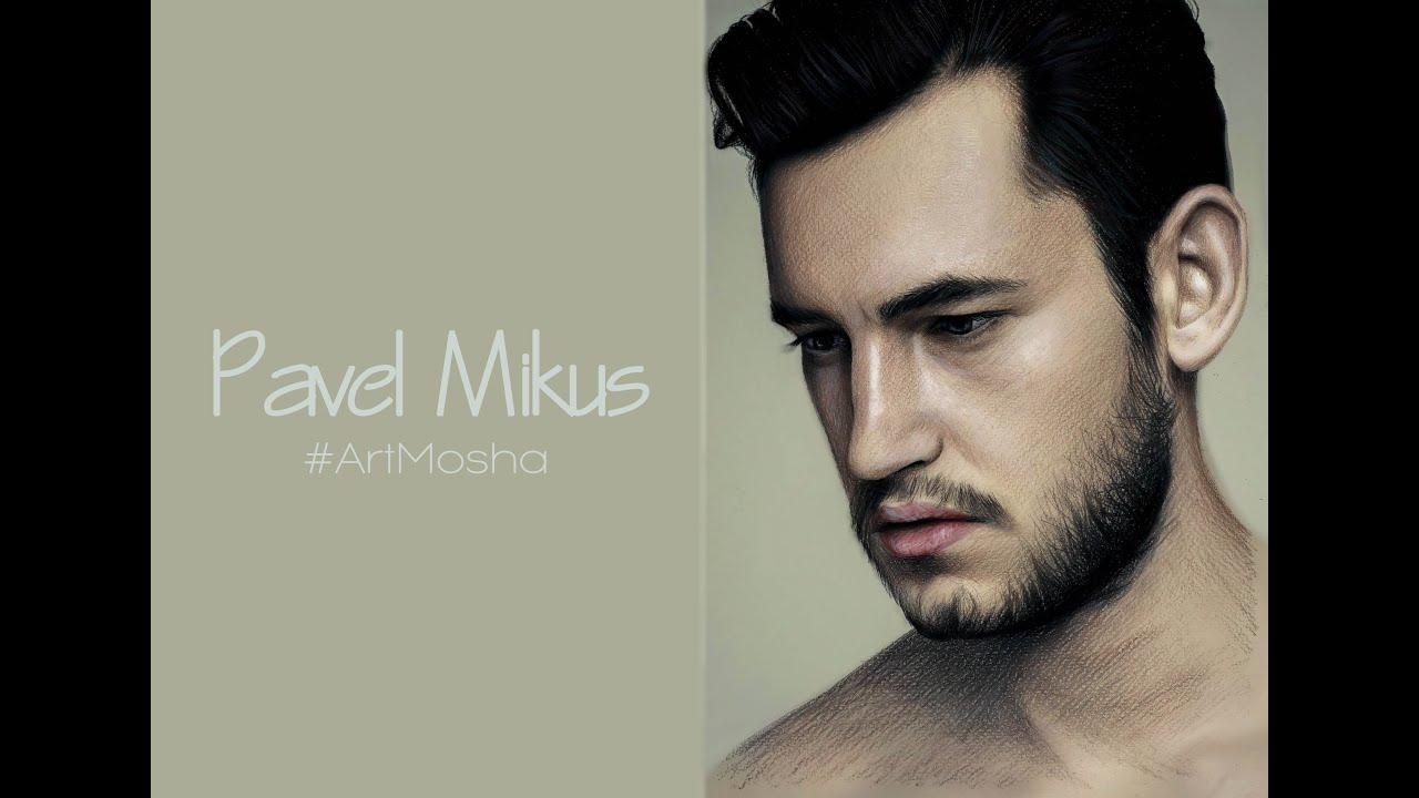 Pavel Mikus / Паша Микус портрет pencil portrait - YouTube