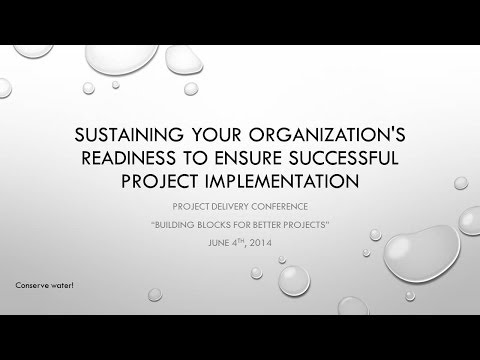 2014 Project Delivery Session 09 Part 1 Project Management - A PSP Forum