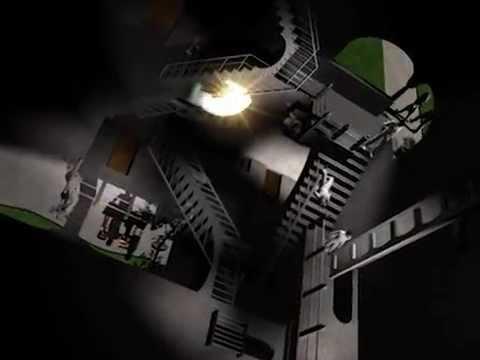 M C  Escher's Relativity Animation