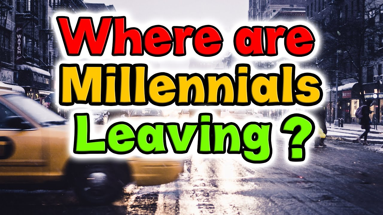 Top 10 Cities Millennials are leaving.