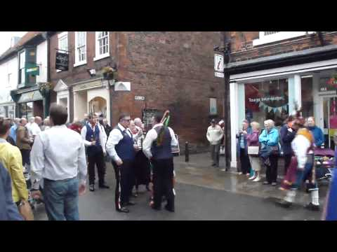 Folk Parade in Beverley town part of Beverley Folk Festival 2015