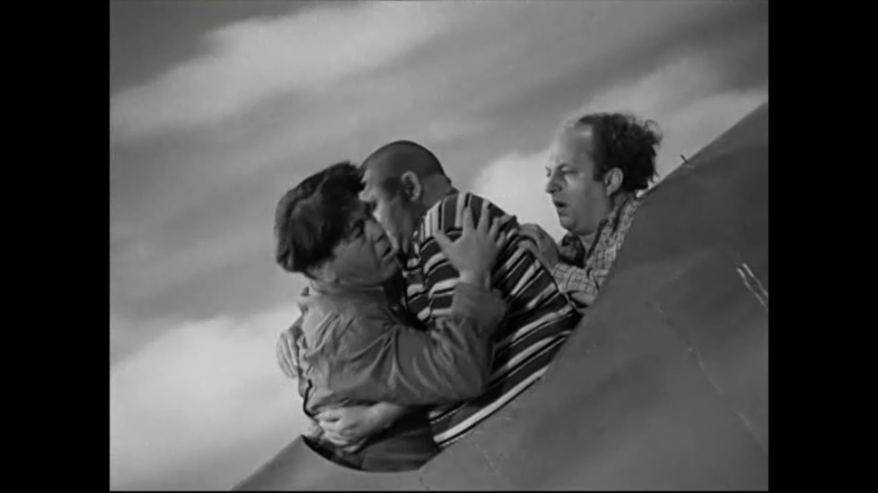 Image result for 074 The Three Stooges: Dizzy Pilots (1943)