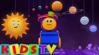 vuclip Bob The Train | Planets Song | Planets Ride with Bob | Space Adventure Bob the train