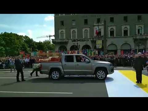 L'arrivo dell'urna di Papa Giovanni XXIII a Bergamo