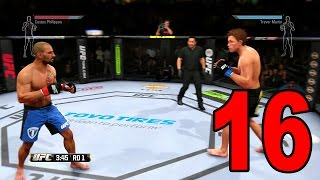 UFC 14 Career Mode - Part 16 - Putting in Work! (EA Sports UFC 2014 Gameplay)