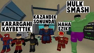 26 IN SUPERHEROISM. DAY HEADQUARTERS WE HAVE TAKEN BACK ! / Roblox English / MadCity Roleplay