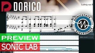 Preview: Steinberg Dorico Notation Software
