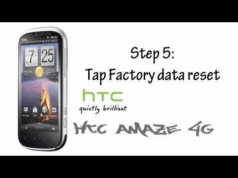 HTC Amaze 4G - Easy Hard Reset