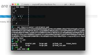 Using SSH Keys to Connect to your Droplet (Mac)