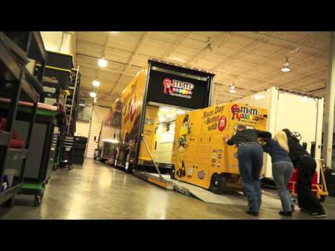 Insider: Kyle Busch's M&M'S Hauler Heads for Daytona!