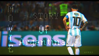 Lionel Messi ● Messi 's life story with Argentina ● The Movie HD