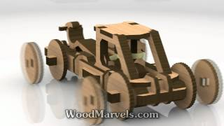Mangonel B Siege Weapon: 3d Assembly Animation (1080hd)