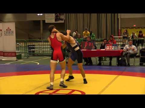2014 Senior Greco-Roman National Championships: 66 kg Joseph Dashou vs. Tyler Buchan