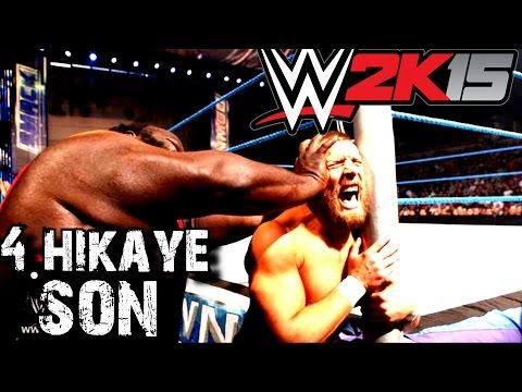 WWE 2K15 Türkçe | 4.Hikaye | Unutulmaz Adam Mark Henry | SON | Ps4 | oynanış