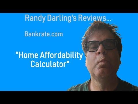 Bankrate.com Loan Calculator: Home Affordabilty