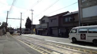 熊本電鉄 八景水谷駅 第三種踏切/電鈴式警音器