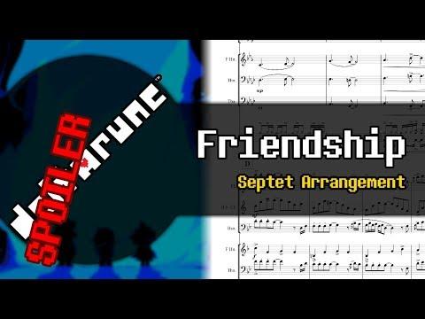 """DELTARUNE - """"Friendship"""" (Septet Arrangement)"""