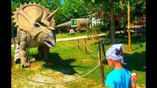 ПАРК ОТДЫХА для детей Discovery Park. ДИНОЗАВРЫ, зоопарк. ОТДЫХ С ДЕТЬМИ в Турции. Анталия.