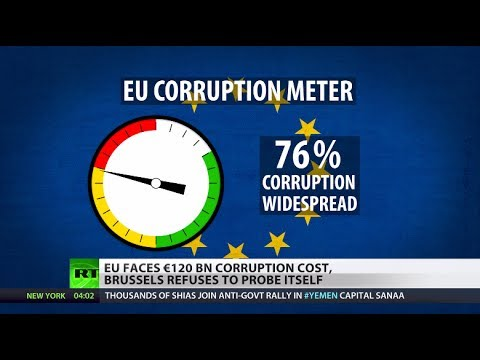'Breathtaking': Corruption cost in EU equals its annual budget