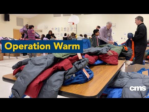 Operation Warm at University Parks Creative Arts School