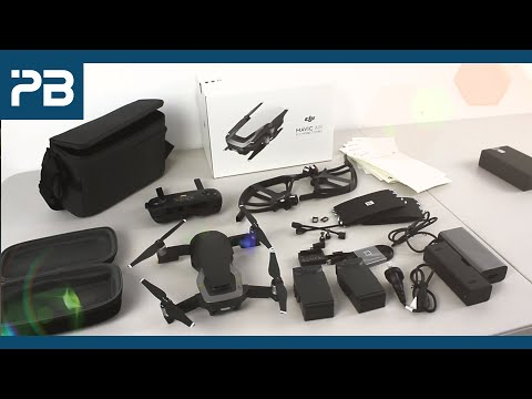 DJI Mavic Air Fly More Combo Unboxing