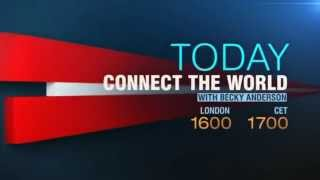 "CNN International ""Today: Connect The World"" bumper"