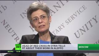 Humanitarian needs in Syria so big, we can't cover all   Head of Syrian Red Cross delegation