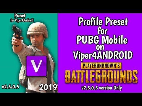 Preset Profile PUBG Mobile for Viper4Android v2 5 0 5 - YouTube